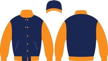 designs personalizados de jaquetas vetor