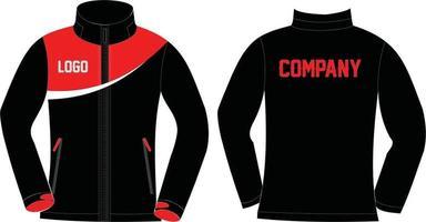 designs personalizados de jaquetas softshell vetor