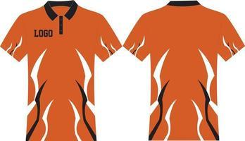 T-shirt design mock ups vetor
