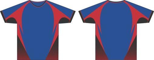 T-shirts maquetes de gola redonda masculina vetor