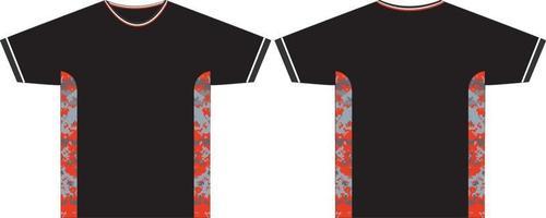 camisetas masculinas com gola redonda vetor