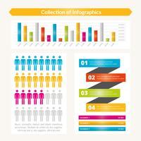 Coleção de infográficos especiais de vetor