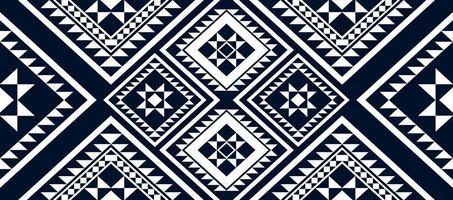 padrão étnico geométrico design tradicional fundo vetor