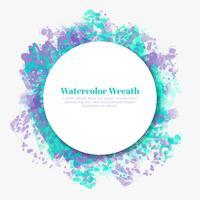Vector Aquarela Decoração
