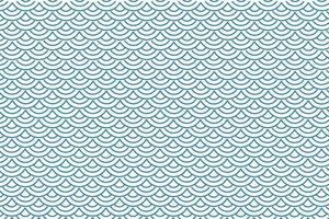 padrão de escala de peixe abstrato vetor