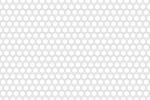 padrão de favo de mel preto e branco vetor