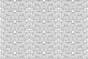 padrão de circuito eletrônico abstrato vetor