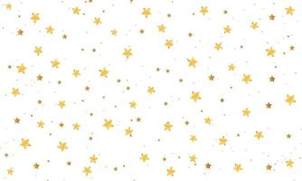 elegante fundo de estrelas douradas vetor