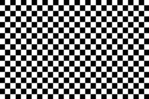 padrão de xadrez preto e branco vetor
