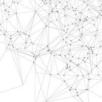 Fundo de conexões vetor