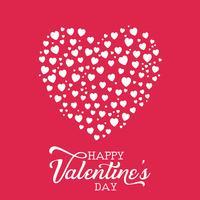 Dia dos namorados coração fundo vetor