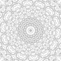 Adulto design de página para colorir vetor