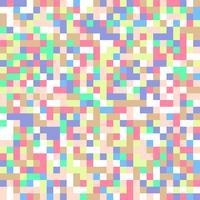 Fundo de quadrados pastel vetor