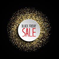 Fundo de venda de sexta-feira negra de Glitter vetor