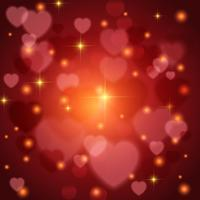 Fundo de corações do dia dos namorados