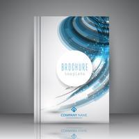 Design de brochura comercial vetor