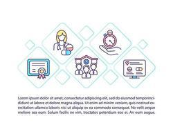 ícone de conceito de loja de farmácia online certificada com texto vetor