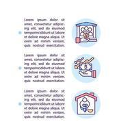 quem é elegível para aplicar ícone de conceito com texto vetor