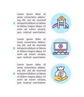 Ícone do conceito de ajuda para pequenas empresas com texto