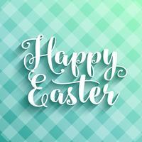 Feliz Páscoa vetor