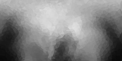 desenho poligonal geométrico de vetor cinza claro.