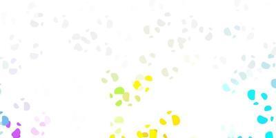 luz padrão multicolorido de vetor com formas abstratas.