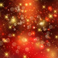 Fundo de luzes de Natal vetor