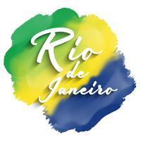 Fundo do Rio de Janeiro vetor
