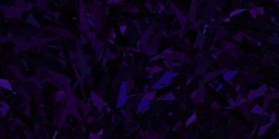 fundo vector roxo escuro com triângulos.