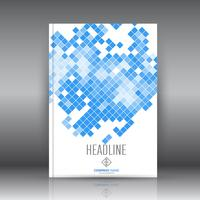Design moderno brochura vetor