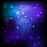 Imagem de galáxia espacial vetor