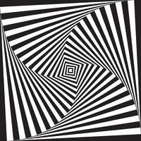 Fundo de ilusão de ótica vetor