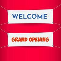 Bem-vindo, grande inauguração, bandeira, eleição presidencial, 2020, estados unidos vetor