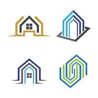 imagens de logotipo de imóveis vetor