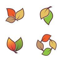 ilustração de imagens de outono vetor