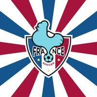 Emblema do futebol francês