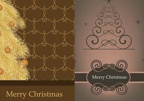 Papel de Parede Ilustrador de Árvore de Natal