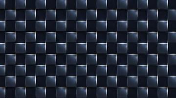 fundo escuro geométrico realista quadrado. luz de brilho branca, ilustração vetorial vetor