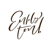 túmulo vazio Páscoa mão desenhada caligrafia letras texto de vetor. cartão de saudação de ilustração de Cristo. citação artesanal de frase tipográfica em fundo branco isolado.