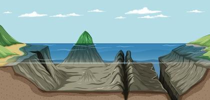 mariana trincheira paisagem submarina