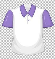 camisa pólo simples vetor