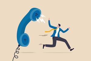 reclamação do cliente, insatisfação com o produto ou problema do serviço, feedback irado do conceito do cliente vetor