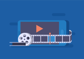 Vector de edição de vídeo