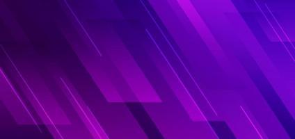 abstrato azul e rosa gradiente de cor diagonal geométrica com linha de fundo de tecnologia moderna. vetor