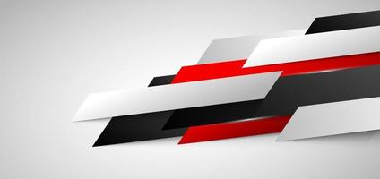 abstrato banner corporativo web design diagonal geométrico vermelho e branco no conceito de tecnologia de textura de fundo branco. vetor
