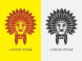 chefe índio nativo americano