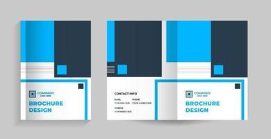 modelo de design de layout com página de capa para o perfil da empresa, relatório anual, brochura, folheto, folheto, revista, livro, catálogo, proposta, prospecto, portfólio, livreto, revista, vetor de apresentação em tamanho A4