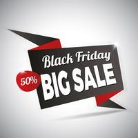 Sexta-feira negra grande venda