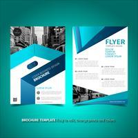 Modelo de design de folheto folheto