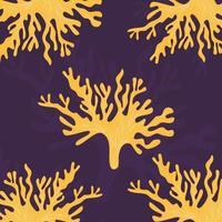vetor de padrão de coral